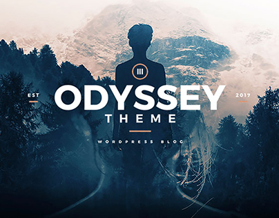 Odyssey - WordPress Blog Theme