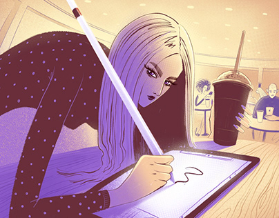 iPad artist