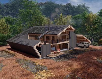 Aablako Forest House by Shomali Design Studio