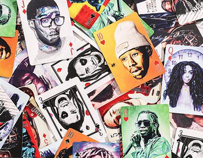 Illustrative Hiphop Card Deck