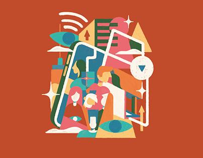 Catarsis Latino · Editorial Design + Illustration