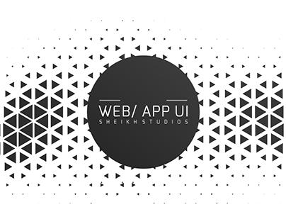 Web/App Designs