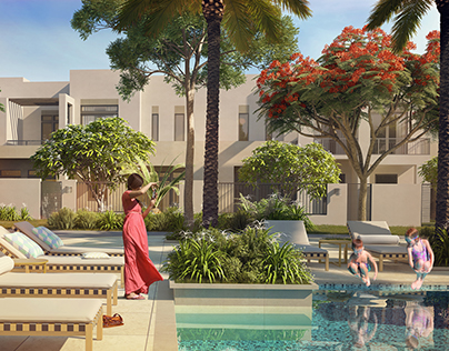 Safi community master plan Town Square Dubai