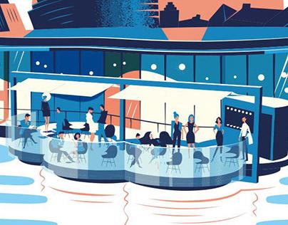 Floating Restaurant Helsinki
