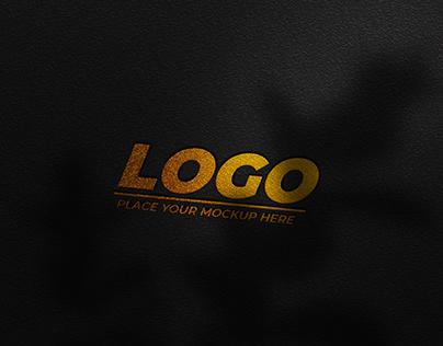 FREE | Hot Stamping Logotype Mockup