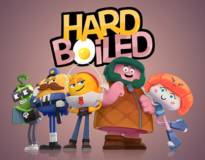Hard Boiled (c) One Animation 2017