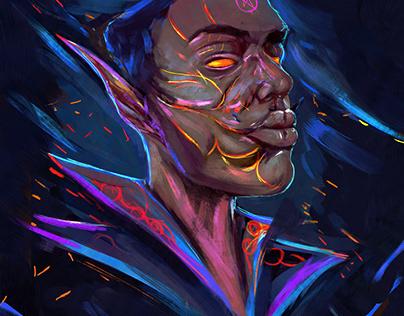 Vulcan ( Character Design ) personal concept