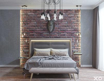 XO Design house interior / S= 216 m2