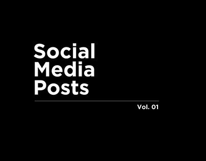Social Media Posts   Netflix India   Vol. 01