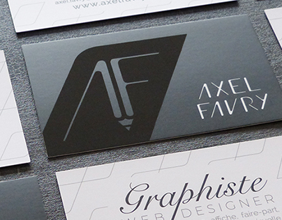 Business cards : Axel Favry
