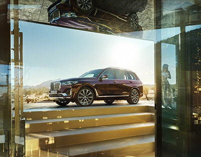 The all new BMW X7 Worldwide Campaign