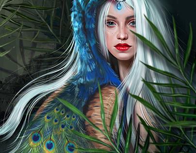 Peacock faerie