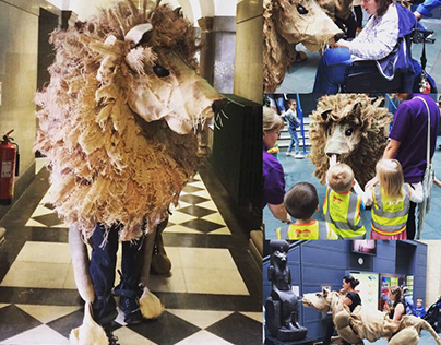 VIP Puppets Walkabout with the Lions