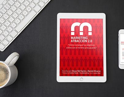 """Diseño E-book - Marketing de Atracción 2.0""""."""