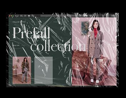 Stella McCartney Collection Showcase Landing