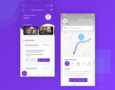 Event & Video Stream App