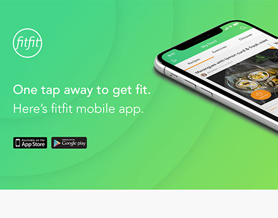Fitfit - Fitness and food app