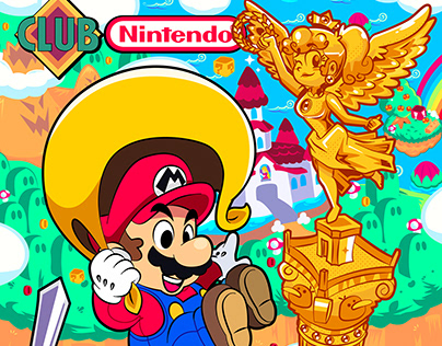 Club Nintendo X Gus Ror