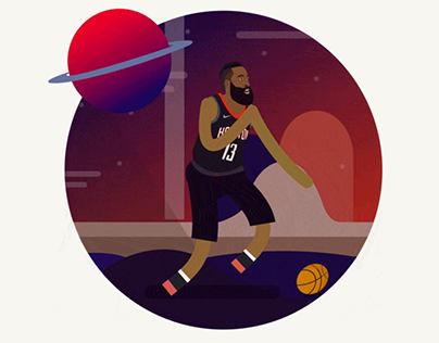 Harden in Houston