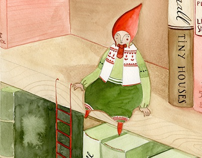 Little People and the Books