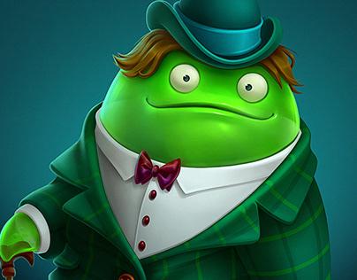 Mister Slime for ''Halloween Night''