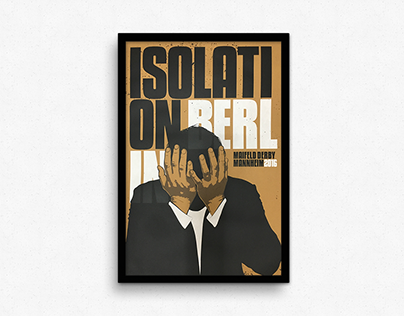 Gigposter Isolation Berlin