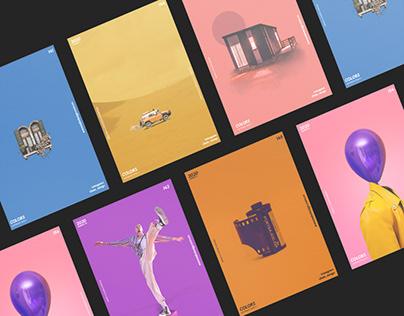Colors Post design