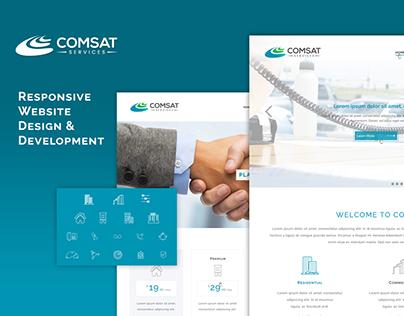 Comsat Services - Responsive Website Design