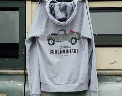 CoolnVintage Tshirts Illustration