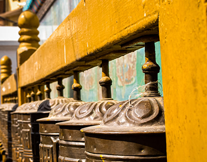 Tibetan bell from Nepal: land of tradition and culture