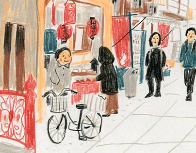 Tokyo Sketches 3