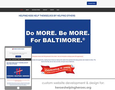 Heroes Website