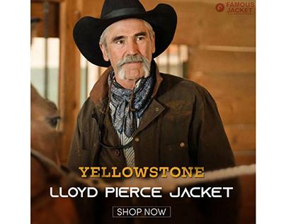 Forrie J. Smith Yellowstone S03 Lloyd Pierce Jacket