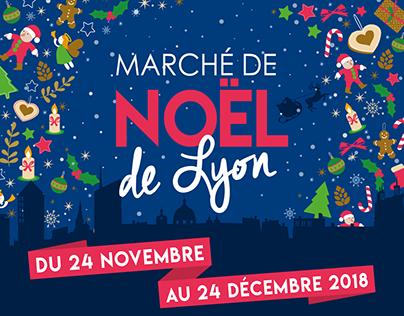 Marché de Noël - Lyon 2018