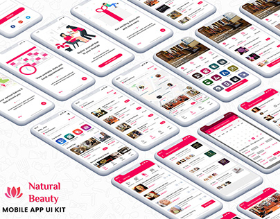 BeautySalon-SpaApp-UI-Kit
