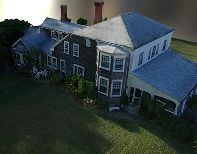 Residential 3D Scan with DJI Phantom 3 4K