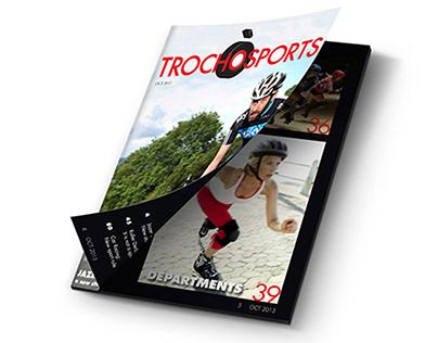 Trochosports: Magazine, Branding, Layout