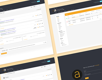 SEM App - UI design and front end development