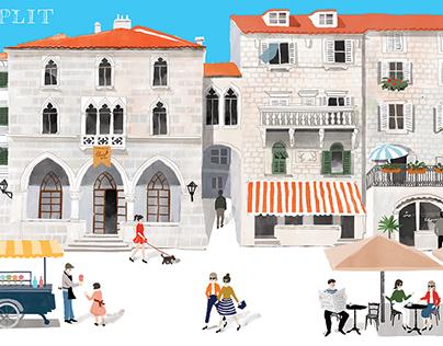 Postcards of Split