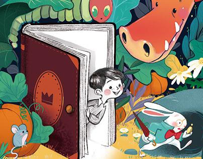 Erase una puerta en cada libro
