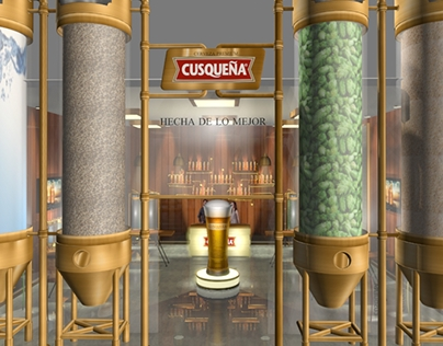 3D Booth Cusqueña Variedades - Mistura ´14