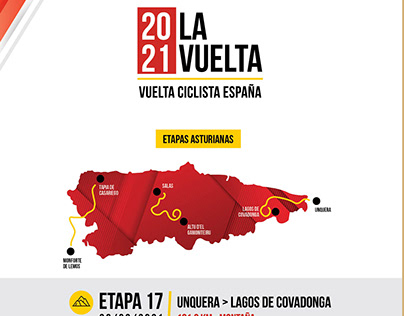 Infografía La Vuelta 2021 | Etapas asturianas