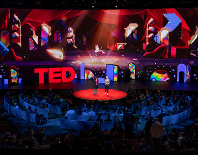 TED 2019: Bigger Than Us - Visuals & Stage Design