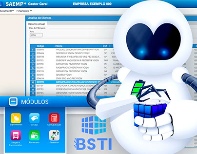 Saemp S4 - BSTI - UI Design