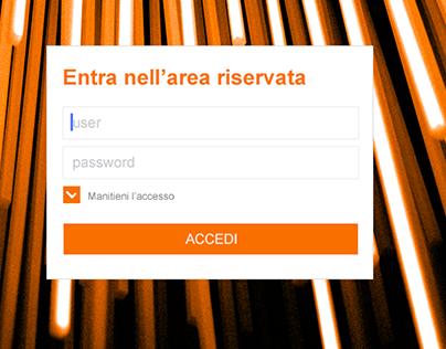 Area Riservata E-commerce