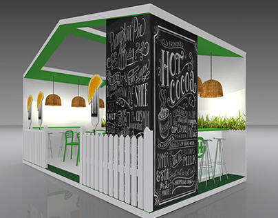 Propuesta Diseño Stand para Feria