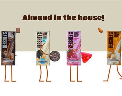 Hershey's Product Launch, Animation