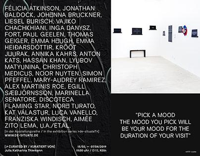 »ACT« — Ausstellungsdesign, Kunst