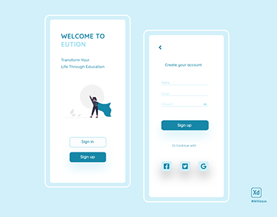 Daily UI 01 - Signup Page