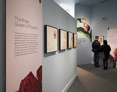 Smithsonian Postal Museum | Beautiful Blooms exhibition